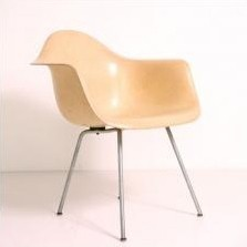DAX Dinner Chair by Charles and Ray Eames for Zenith Plastics