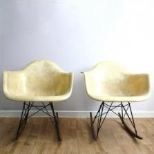 RAR Rocking Chair by Charles and Ray Eames for Zenith Plastics