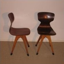 Children's chair by Adam Stegner for Flötotto, 1950s