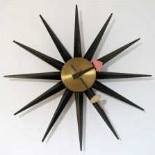 Sunburst 2202 Clock by George Nelson for Howard Miller