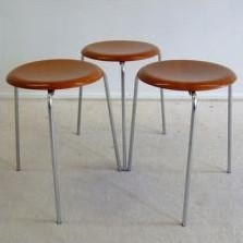 Stool by Arne Jacobsen for Fritz Hansen