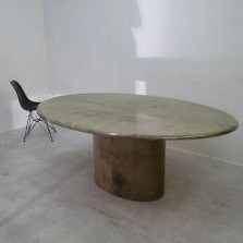 Dining Table by Aldo Tura for Unknown Manufacturer