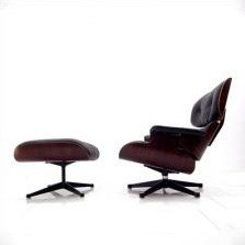 670 + 671 Lounge Chair by Charles and Ray Eames for Vitra
