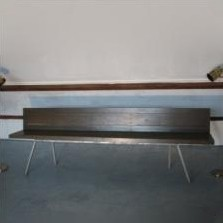 Bench from the sixties by Hans van der Laan for unknown producer