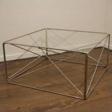 Coffee table by Max Sauze for Group SA France, 1960s