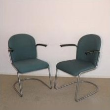 Model 413 Lounge Chair by W. Gispen for Gispen