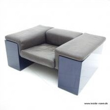 Brigadiere lounge chair from the seventies by Cini Boeri for Knoll International
