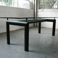 LC 6 dining table by Le Corbusier for Cassina, 1920s