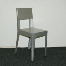 Set of 4 Alu dining chairs by Piet Hein Eek for Lensvelt