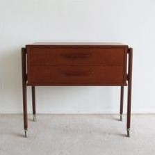 Chest of drawers by Knud Bent for Niels Simonsen, 1960s