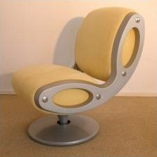 Gluon Revolving Lounge Chair by Marc Newson for Moroso Italy