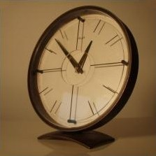 Clock from the forties by Heinrich Möller for Kienzle