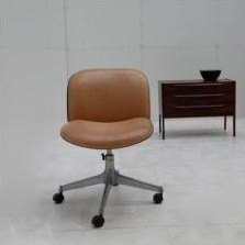 6 x office chair by Ico Parisi for MIM Roma, 1960s