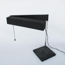 Saffa Desk Lamp by Dieter Waeckerlin for SLZ Schweiz
