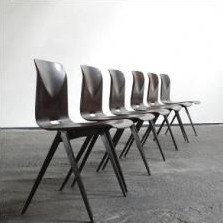 Set of 6 Flötotto dining chairs