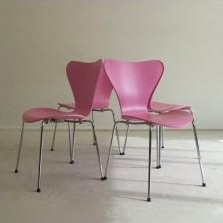 3107 Butterfly Dinner Chair by Arne Jacobsen for Fritz Hansen