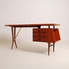 Writing Desk by Louis van Teeffelen for Wébé
