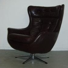 2 x Selig lounge chair, 1960s
