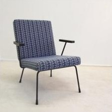 Model 1407 Lounge Chair by Wim Rietveld for Gispen
