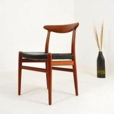 W2 Dinner Chair by Hans Wegner for C M Madsen