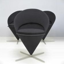 Cone Dinner Chair by Verner Panton for Vitra