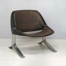 Lounge Chair by Knut Hesterberg for Wohnwerk Stuttgart