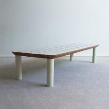 Vintage bench, 1970s