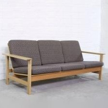 Model 2553 Sofa by Soren Holst for Fredericia