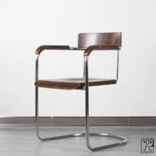 Model 1242 dining chair by Rudolf Vichr for Vichr A Spol, 1930s