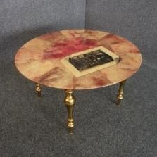 Coffee Table by Aldo Tura for Unknown Manufacturer