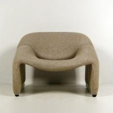 F598 M-Chair Lounge Chair by Pierre Paulin for Artifort