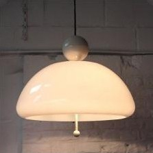 Hanging Lamp by Elio Martinelli for Martinelli Luce