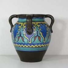 MN 964 vase by unknown designer for Gouda Holland