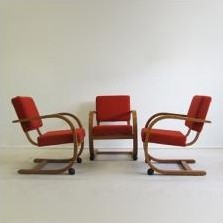 Lounge Chair by Bas van Pelt for Unknown Manufacturer