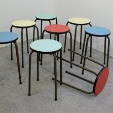 Stool by Unknown Designer for Tribou