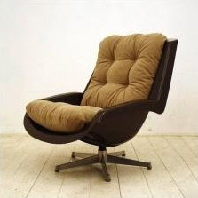 Lounge Chair by Paul Tuttle for Strässle