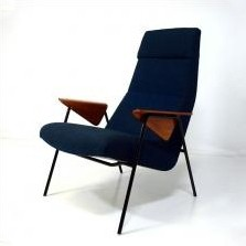 Model 350 Lounge Chair by Arno Votteler for Walter Knoll