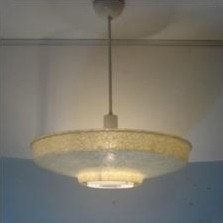 Hanging lamp from the fifties by Louis Kalff for Philips