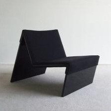 M Lounge Chair by Hans Ebbing and Ton Haas for Spectrum