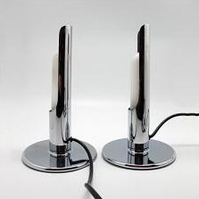 2 x Prix floor lamp by Ingo Maurer for Design M, 1960s