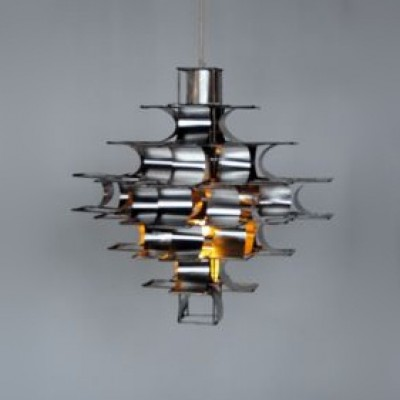 Cassiopé Hanging Lamp by Max Sauze for Unknown Manufacturer
