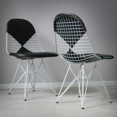 Wire Bikini Dinner Chair by Charles and Ray Eames for Vitra