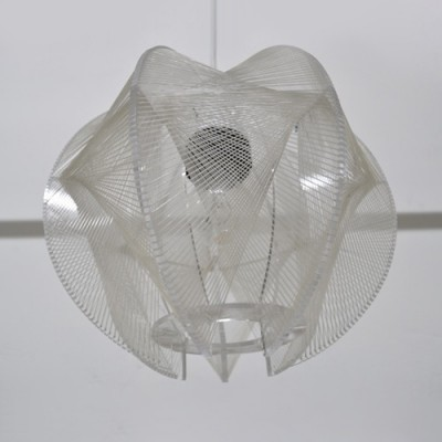 Swag Hanging Lamp by Paul Secon for Sompex