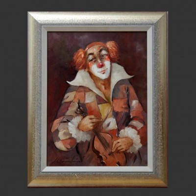 The Clown Art by Günther Krausbauer for Unknown Manufacturer