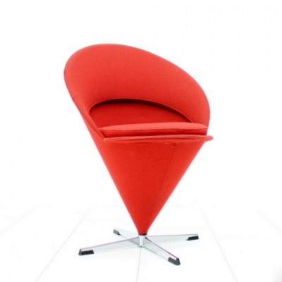 Cone lounge chair from the fifties by Verner Panton for Plus Linje