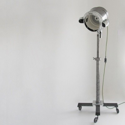 The Turbinator Floor Lamp by Unknown Designer for Unknown Manufacturer