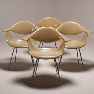 DAF Dinner Chair by George Nelson for Herman Miller