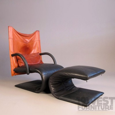 Zen Lounge Chair by Claude Brisson for Ligne Roset