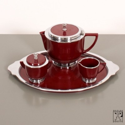 Tea set by Unknown Designer for Festellan