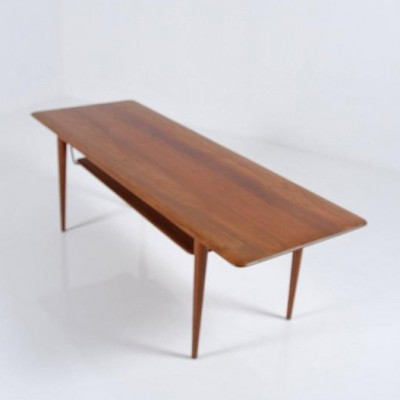 Coffee Table by Peter Hvidt and Orla Mølgaard Nielsen for France and Son